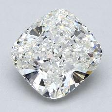 2.01-Carat Cushion Diamond Very Good H VS1