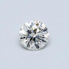 オススメの石No.3:0.40カラットラウンドカットダイヤモンド