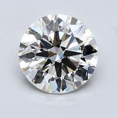 1.47-Carat Round Diamond Ideal I VVS2