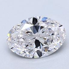 Recommended Stone #1: 1,51-Carat Oval Cut Diamond