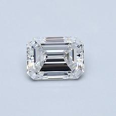 推荐宝石 1:0.50 克拉祖母绿切割钻石