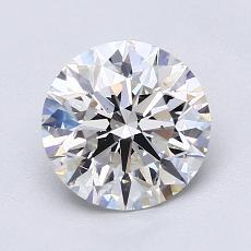 1.51-Carat Round Diamond Ideal F VS2