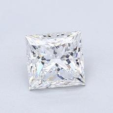 Recommended Stone #1: 0,92-Carat Princess Cut Diamond