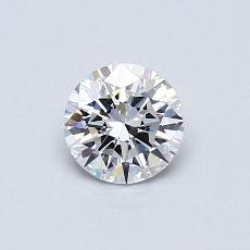 Recommended Stone #2: 0.51-Carat Round Cut Diamond