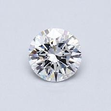 Target Stone: 0.51-Carat Round Cut Diamond