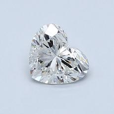 Recommended Stone #1: 0,74-Carat Heart Cut Diamond