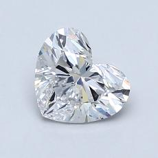 Recommended Stone #4: 0.93-Carat Heart Cut Diamond
