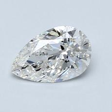 Recommended Stone #2: 0.79-Carat Pear Cut Diamond