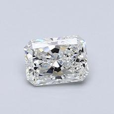 Recommended Stone #3: 0,60-Carat Radiant Cut Diamond