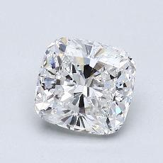 1.01 Carat 垫形 Diamond 非常好 D VVS2