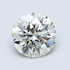 1.30-Carat Round Diamond Ideal K SI1