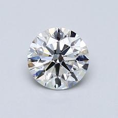 0.75 Carat 圆形 Diamond 理想 E VVS2