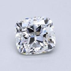 1.03-Carat Cushion Diamond Very Good D VVS1