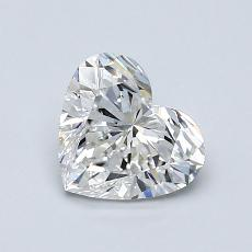 1.01-Carat Heart Diamond Very Good F VVS1