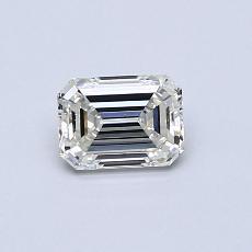 Pierre recommandée n°4: Diamant 0,54carat taille émeraude