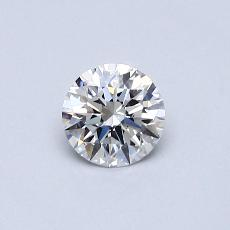 0.70-Carat Round Diamond Ideal E IF