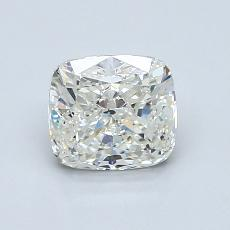 1,20-Carat Cushion Diamond Very Good I SI2