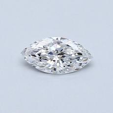 0.31-Carat Marquise Diamond Very Good D VS2