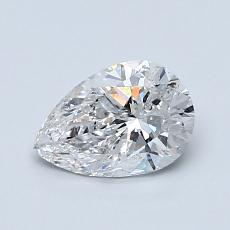 Recommended Stone #2: 0,80-Carat Pear Cut Diamond