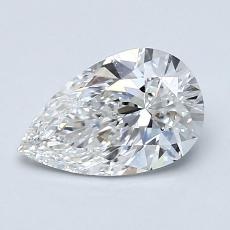 1.01-Carat Pear Diamond Very Good E VS2