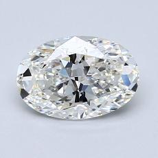1.20-Carat Oval Diamond Very Good G VVS1