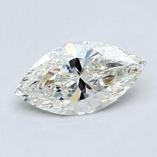 推薦鑽石 #3: 0.76 克拉欖尖形切割