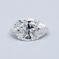 Recommended Stone #2: 0.44-Carat Marquise Cut Diamond