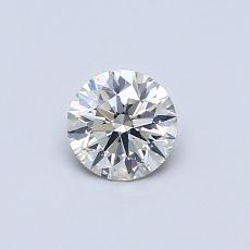 Recommended Stone #1: 0.41-Carat Round Cut