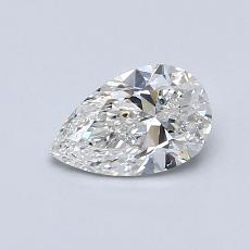 Recommended Stone #4: 0,60-Carat Pear Shaped