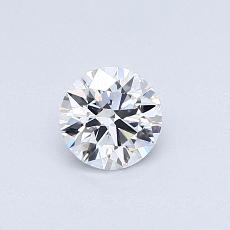 Recommended Stone #4: 0.42-Carat Round Cut Diamond