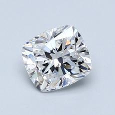 1.01 Carat 垫形 Diamond 非常好 D VS2