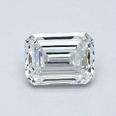 Recommended Stone #1: 0.81-Carat Emerald Cut Diamond
