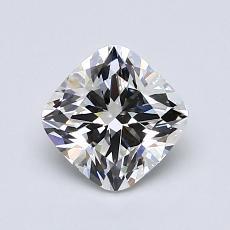 1.01-Carat Cushion Diamond Very Good H VS1