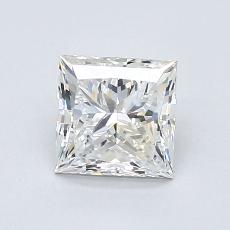 1.05-Carat Princess Diamond Very Good F VVS1