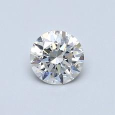0.54-Carat Round Diamond Ideal G SI1