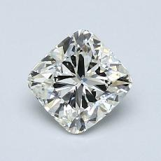1.00-Carat Cushion Diamond Good K SI1