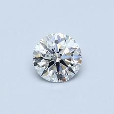 0.40 Carat 圓形 Diamond 理想 D VS1