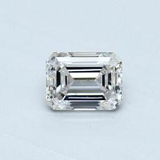 Recommended Stone #3: 0,41-Carat Emerald Cut Diamond