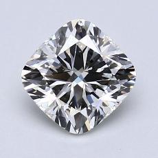 1.54-Carat Cushion Diamond Very Good I VVS2