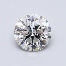 0.90-Carat Round Diamond Ideal G SI1