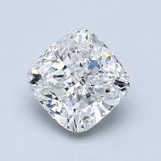 Pierre recommandée n°1: Diamant taille coussin 1,20 carats