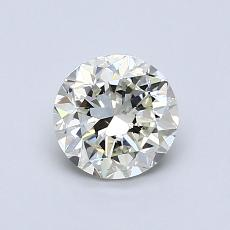 0.90-Carat Round Diamond Good K SI1