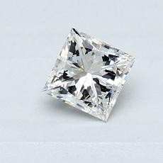 0.50-Carat Princess Diamond Very Good H VS2