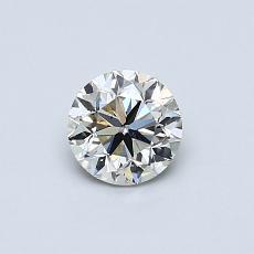 0.50 Carat 圆形 Diamond 良好 K SI1