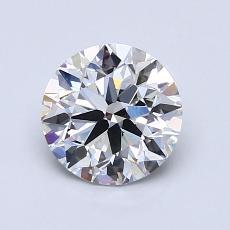 1.20 Carat 圆形 Diamond 理想 G VVS2