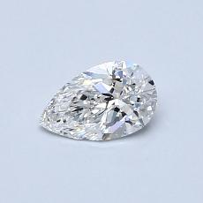 Recommended Stone #2: 0.40-Carat Pear Cut Diamond