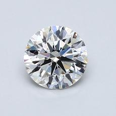 0.80 Carat Redondo Diamond Ideal E VVS2