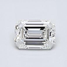 推荐宝石 2:0.70 克拉祖母绿切割钻石