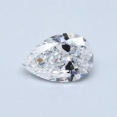 0.47 Carat Pera Diamond Muy buena D VS1