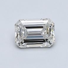 Recommended Stone #4: 0.90-Carat Emerald Cut Diamond